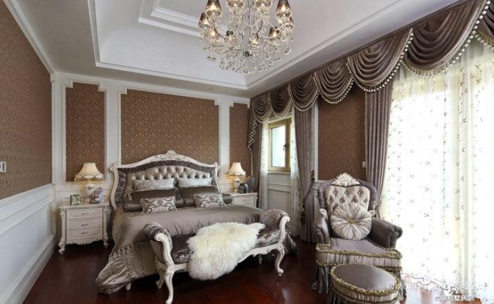 奢华欧式古典风格卧室吊顶造型装修效果图鉴赏