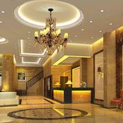 酒店背景墙设计图片