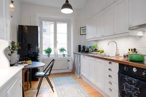 2015全新整洁简约的创意厨房装修效果图