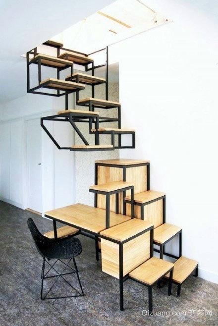 出乎意料的创意旋转楼梯大集合