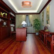 书房木地板装修图片