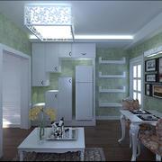 清新系列单身公寓设计