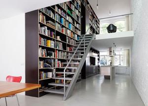 设计者之家:超级酷炫的铁艺旋转楼梯装修效果图