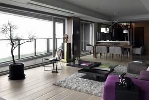 别墅木地板设计图片