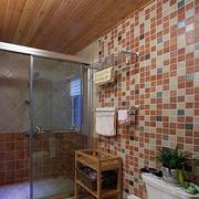 浴室玻璃隔断装修设计