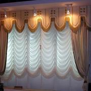 别墅窗帘设计图片