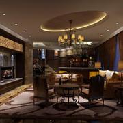 深色调酒店设计图片