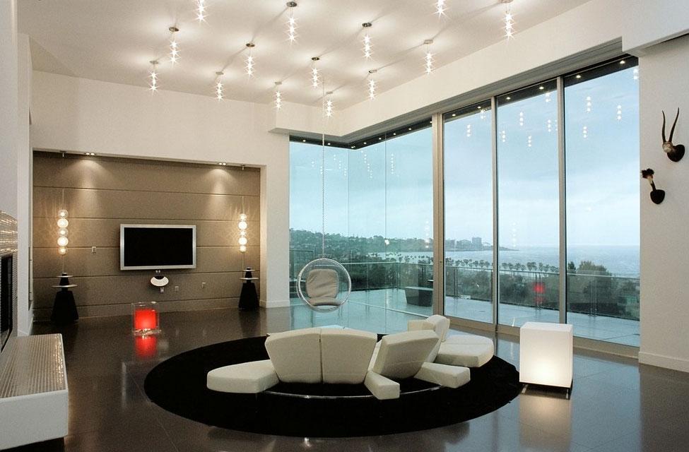 别墅大气 时尚北欧风格 客厅 装修效果图