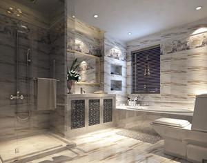 灰色调卫生间设计