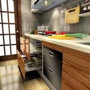 淡色调厨房设计欣赏