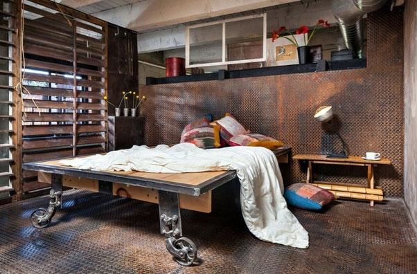 工业 风格 卧室吊顶 造型装修效果图大全