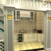 浪漫型酒柜装修设计