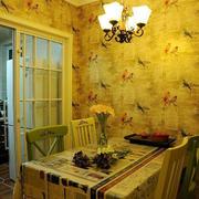 暖色调背景墙效果图