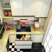 暖色调厨房设计欣赏