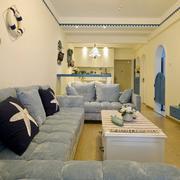暖色调单身公寓设计