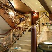 温馨系列楼梯装修设计