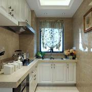 别墅厨房装修图片