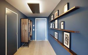 120平米现代经典居家复式楼装修效果图