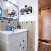 自然风格小卫生间装修