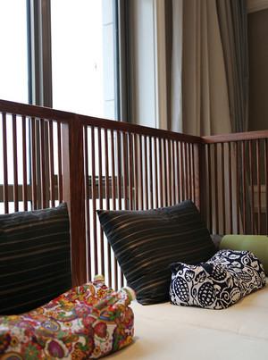传统型窗帘效果图片