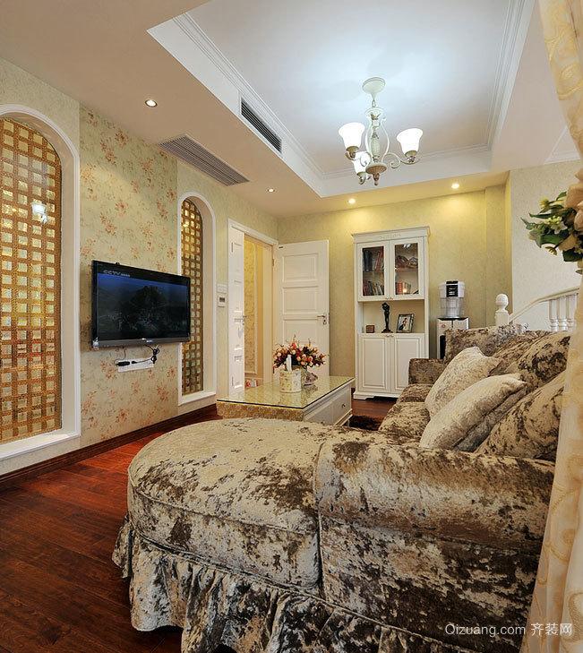 270平米简约性感温馨别墅室内装修效果图