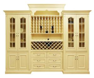 清淡型酒柜装修设计
