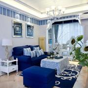 地中海风格客厅设计大全