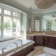 宜家风格浴室窗户设计