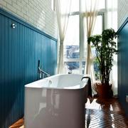 采光充足浴室窗户设计