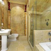 浴室地板砖装修设计