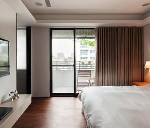 现代温润如玉120平米公寓软装设计装修效果图