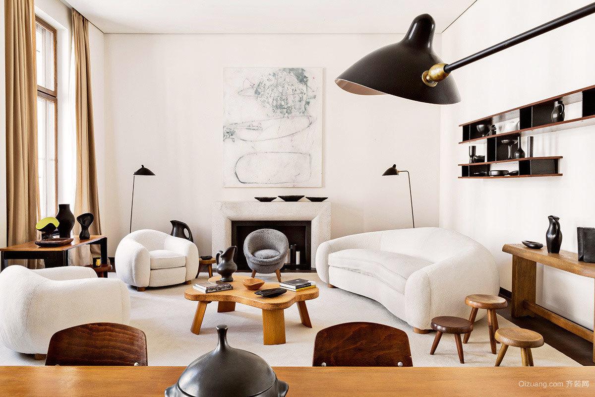 两室一厅宜家型小复式楼室内装修效果图