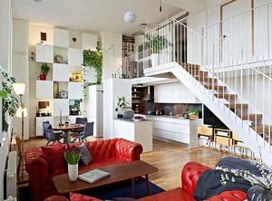 150平米北欧宽敞跃层式住宅家居装修效果图
