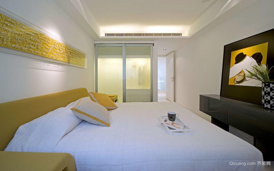 营造舒适空间两居室卧室装修效果图