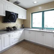 三室两厅厨房橱柜图片
