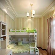 清新系列儿童房双人床