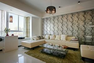 小清新现代风格飘窗窗帘设计装修图片鉴赏