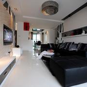 时尚风格公寓设计图片