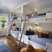 大户型儿童房双人床