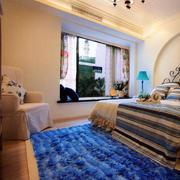 清新型窗帘设计图片