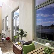 自然风格阳台设计欣赏