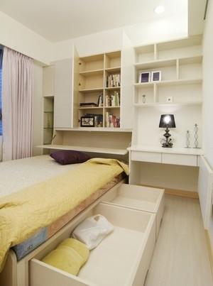 120平米超强收纳宁静致远三室一厅装修效果图