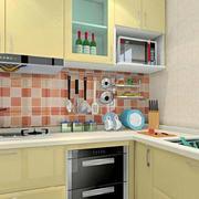 黄色调厨房装修大全