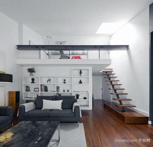 2015简约质感的现代灰色家居装修效果图