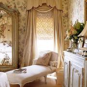 浅色调窗帘设计图片