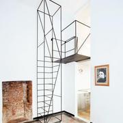 自然风格楼梯设计图片