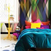 浪漫型床头背景墙