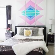 大户型床头背景墙