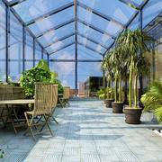 大气型阳光房装修