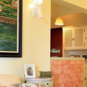 暖色调房屋效果图片